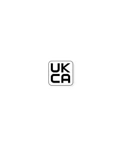 UKCA Labels 10x10mm