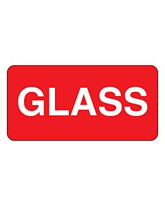 Glass Labels 50x25mm