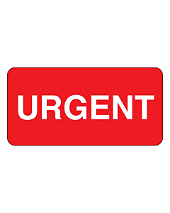 Urgent Labels 50x25mm