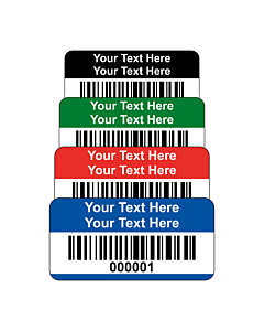 Premium Polyester Asset Labels Barcode 30x15mm