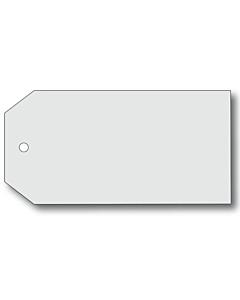 Blank Grey Tags 110x55mm