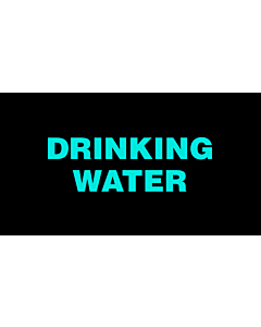 Drinking Water Labels 50x25mm