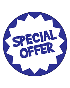 Special Offer Flash Labels 50mm Permanent