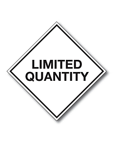 Limited Quantity Labels 100x100mm (250 Labels)
