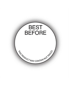 Best Before Labels 30mm