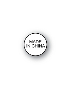 Made in China Labels 15mm