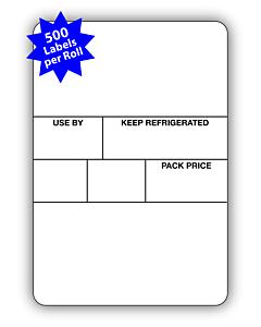 Avery Berkel Scale Labels Format 3 50x73mm (10 Rolls / 5,000 Labels)