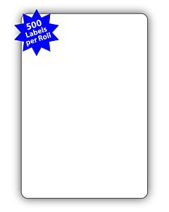 Avery Berkel Scale Labels 50x73mm (10 Rolls / 5,000 Labels)
