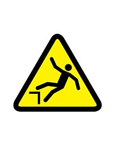Drop or Fall Hazard Warning Labels