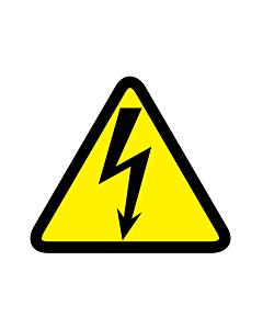Electricity Hazard Warning Labels