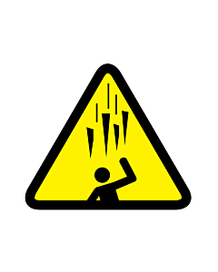 Falling Ice Spikes Warning Labels