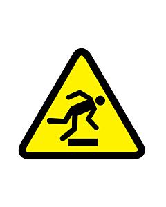 Floor-Level Obstacle Warning Labels