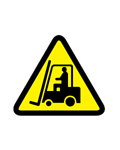 Forklift Truck and Other Industrial Vehicles Warning Labels