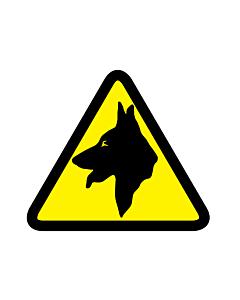 Guard Dog Warning Labels