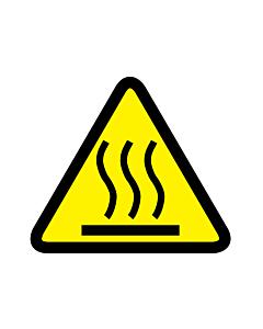 Hot Surface Warning Labels