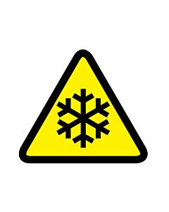 Low Temperature Hazard Warning Labels