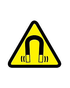 Magnetic Field Warning Labels