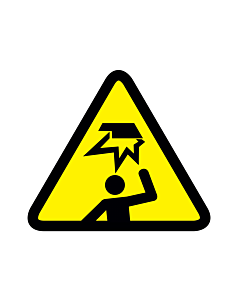 Overhead Obstacle Warning Labels