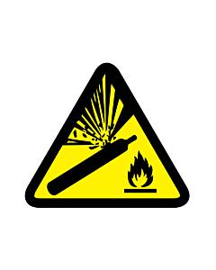Pressurized Cylinder Warning Labels