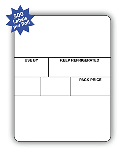 Avery Berkel Scale Labels Format 3 58x73mm 10 Rolls / 5,000 Labels