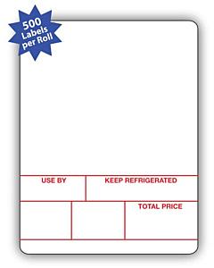 Avery Berkel Scale Labels Format 1 58x73mm (10 Rolls / 5,000 Labels)