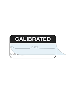 Write & Seal Calibration Labels 38x19mm