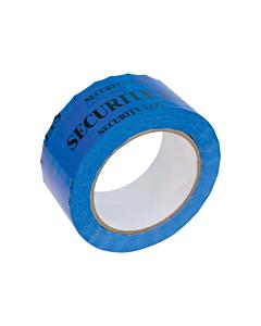 Tamper Evident Security Tape Blue