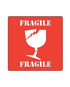 Fragile Labels 100x100mm