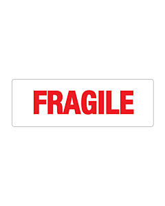 Paper Fragile Labels 150x50mm