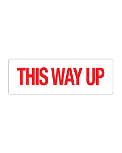 Paper This Way Up Labels 150x50mm