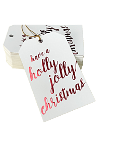 Have a Holly Jolly Christmas Gift Tags 55x90mm