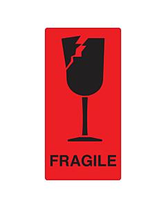 Fragile Labels 75x150mm