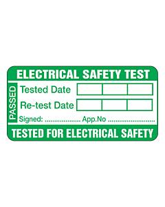 PAT Test Labels 50x25mm