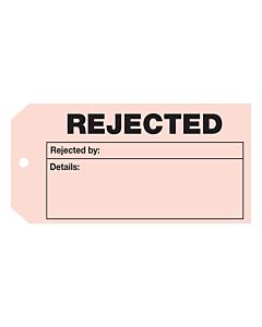 QC Rejected Tag (110x55mm)