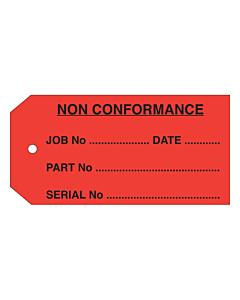 QC Non Conformance Tag (110x55mm)