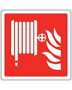 Fire Hose Reel Labels 100x100mm