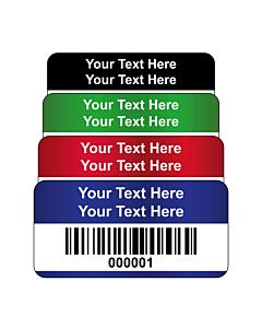 Destructible Vinyl Asset Labels Barcode 40x20mm