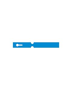 180x20mm Blue Self-Tie Loop Lock Labels