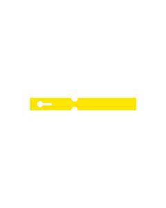 180x20mm Yellow Self-Tie Loop Lock Labels