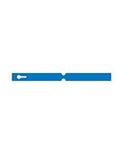 250x20mm Blue Self-Tie Loop Lock Labels