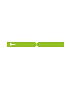 250x20mm Green Self-Tie Loop Lock Labels