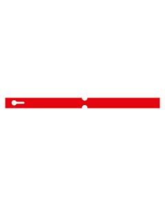 300x20mm Red Self-Tie Loop Lock Labels