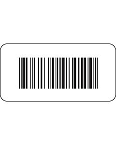ISBN Barcode Labels Paper 40x20mm