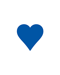 Navy Blue Heart Stickers 15x15mm
