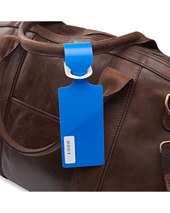 Blue Bag Tags