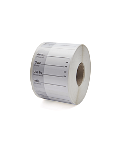 Use By Shelf Life Labels 50x50mm