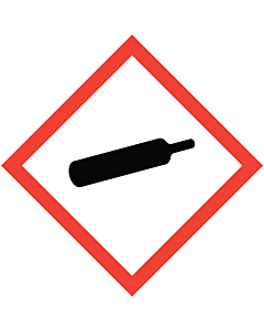 GHS & CLP Compressed Gas Labels