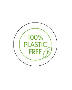 100% Plastic Free Labels