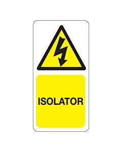 Isolator Labels