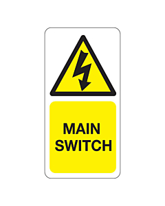 Main Switch Labels